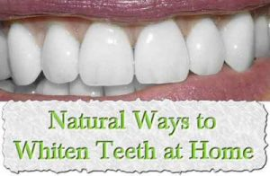 natural ways to whiten teeth