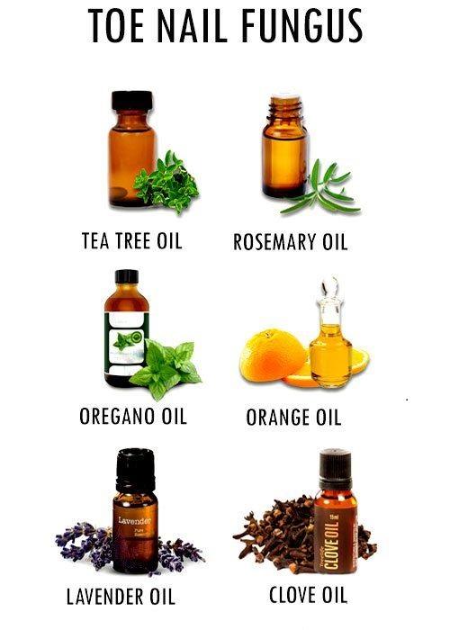 oils for toenail fungus