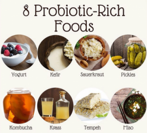 foods with probiotics